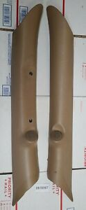 1998 - 2001 Dodge Ram A Pillar Trim Panel TAN Left Right Pillars 1999 2000 OEM