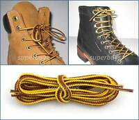 Yellow Brown 150cm Timberland Hiking Trekking Shoe Work Boot Laces Trek Hike 60""