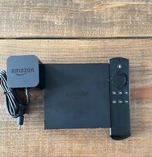 Amazon Fire TV 2nd Gen Media Streamer 8 GB Black DV83YW Alexa Voice Great shape
