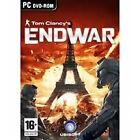 Tom Clancy's: End War (PC DVD) BRAND NEW SEALED SLIM CASE
