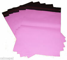 """25 x 10x14"""" PINK MAIL PLASTIC POSTAGE BAGS"""