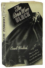 The Bride Wore Black CORNELL WOOLRICH Advance Reading Copy 1st Edition 1940 ARC
