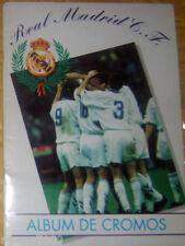 ALBUM DE CROMOS=REAL MADRID=COMPLETO=SPAGNA 1995 =DI STEFANO=PUSKAS=BUTRAGUENO