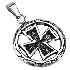 Stainless Steel Celtic Cross Medallion Pendant P134