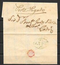 1856. SANLUCAR DE BARRAMEDA A CADIZ. COSARIOS