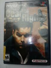 Dead to Rights (Nintendo GameCube, 2002); DVD Only