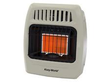 Kozy World 12,000 BTU Plaque Infrared Propane Gas Wall Heater - New