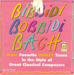 MINT CD Various – Bibbidi Bobbidi Bach 1996 A Whole New World Circle Of Life