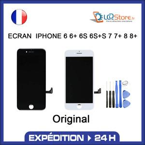 ✔️ ECRAN LCD 100% Original IPHONE 6 6S 7 8 PLUS Noir / Blanc + outils