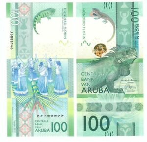 Aruba - 100 Florin 2019 UNC Lemberg-Zp