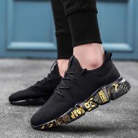 Men Sport Trail Running Shoes Athletic Sneakers Mesh Breathable Tennis Sneakers