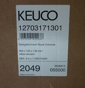 Keuco Universe Spiegelschrank 80cm breit; 12703171301  SOFORT !