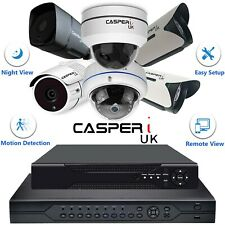 High Resolution CCTV 2MP/4MP Dome and Bullet cameras 4/8/16 CH DVR 1080p/1440p