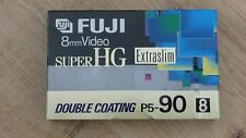 Cassette Tape Factory Sealed FUJI P5-90 Super Hg 8 mm double coating