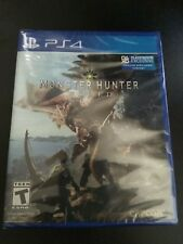 MONSTER HUNTER WORLD * PLAYSTATION 4 Standard Edition * BRAND NEW FACTORY SEALED