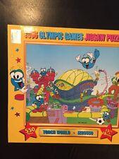 NEW SEALED 1996 Olympic Games Izzy Mascot Torch World Jigsaw Puzzle RARE Atlanta