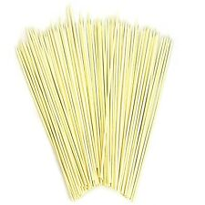 "12"" BAMBOO WOODEN SKEWERS STICKS BBQ Kebab Camping Grill Heavy Duty Bulk Lot"