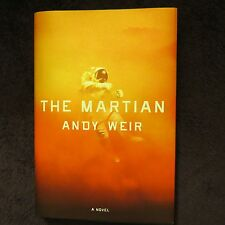 Signed By Andy Weir The Martian 2014, Hc 1St Edition*Movie Best Picture & Actor