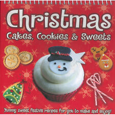 CHRISTMAS COOKBOOK Cakes Cookies Sweets Cooking Chef Recipe Children Adults