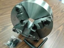 """10"""" 4-JAW SELF-CENTERING  LATHE CHUCK top & bottom reversible jaws 1004F0-SF-new"""