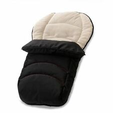 hauck 2 Way Reversible Fleeced Cosytoe Footmuff Black