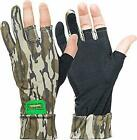 Primos PS6681 Stretch Mossy Oak Bottomland Stretch Fingerless Gloves