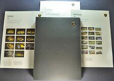 2004 Lamborghini Media Press Kit 5 CD Set Detroit Motor Show Murcielago Gallardo