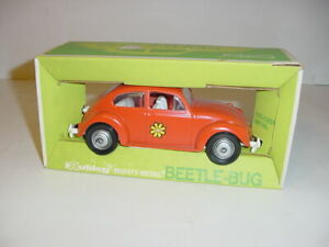 Vintage Hubley Beetle Bug Car W/Original Box! Never Played With!