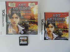 ART OF MURDER FBI TOP SECRET - NINTENDO DS - JEU DS DS LITE DSI COMPLET