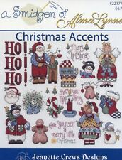 Christmas Accents Smidgen of Alma Lynne Cross Stitch Pattern Booklet
