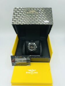 Breitling Airwolf Raven Stainless Steel Watch A78364/B911