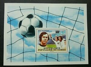 [SJ] Congo World Cup Football Argentina 1978 WC Soccer Sport Games (ms) MNH