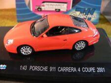 1/43 Collection 711 Porsche 911 Carrera 4 Coupe 2001 orange 671010