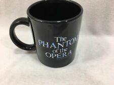 Vintage Phantom Of The Opera Black Mug