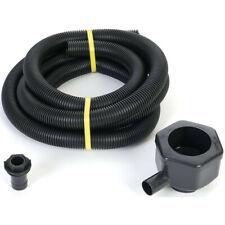 Water Butt Rain Diverter Pipe Extension Downpipe Overflow Filler Kit Ward Black