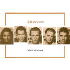 BOYZONE Where We Belong CD Album 1998 WIE NEU Picture Of You 90s Pop Klassiker !