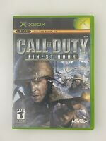 Call of Duty: Finest Hour - Original Xbox Game - Tested
