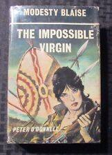 1971 Modesty Blaise IMPOSSIBLE VIRGIN Peter O'Donnell 1st Ed. UK Souvenir HC/DJ