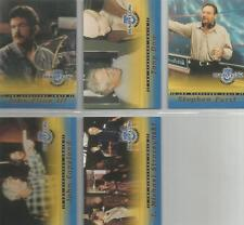 "Babylon 5 Profiles - ""The Director's Chair"" 5 Card Chase / Insert Set #DC1-5"