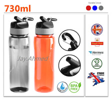 EDGO 730ml Drinking Water Bottle Inbuilt Key Chain Holder,Leak Proof BPA FREE