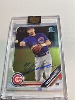 Nico Hoerner 2021 Topps Archives Signature Series On Card Auto #3/99 !! Cubs !!