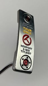 """Titleist Scotty Cameron Newport 2 Mid Circle T 36"""" Tour Only Putter Golf Club"""