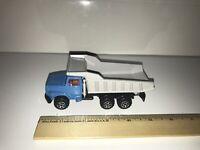 France Majorette Blue Diecast Dump Truck 1:60
