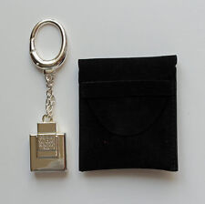 Porte-clé parfums Van Cleef et Arpels pour homme métal argenté