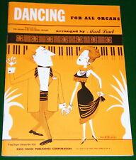 DANCING Song Book w-Sheet Music FORD'S SCHOTTISCHE, BUFFALO GALS, SILVER WEDDING