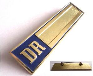 Deutsche Reichsbahn Eisenbahn DR ALU- Abzeichen ( Schild für Namen Namensschild)