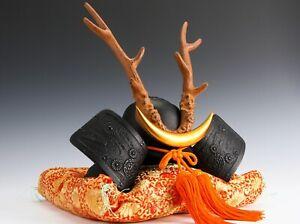 Japanese Samurai Bronze Helmet -Yamanaka Shikanosuke Kabuto- Nanbu Tekki Product