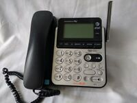 AT&T Digital Answering System Dect 6.0 Expandable to 12 + Manual, Caller ID