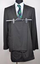 TIGER OF SWEDEN Wool Blend Black Suit UK 42 Blazer Pants W37.5 L30 Trousers