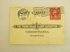 The Trans - Polar Flight Expedition